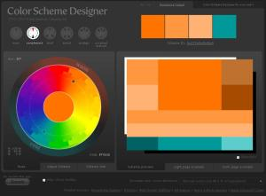 Color Scheme Designer [Combinador de Colores para diseño web]